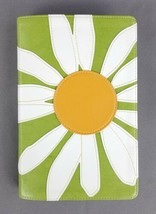 Holy Bible New International Version NIV Daisy Flower (Faux Leather) Red... - $14.80