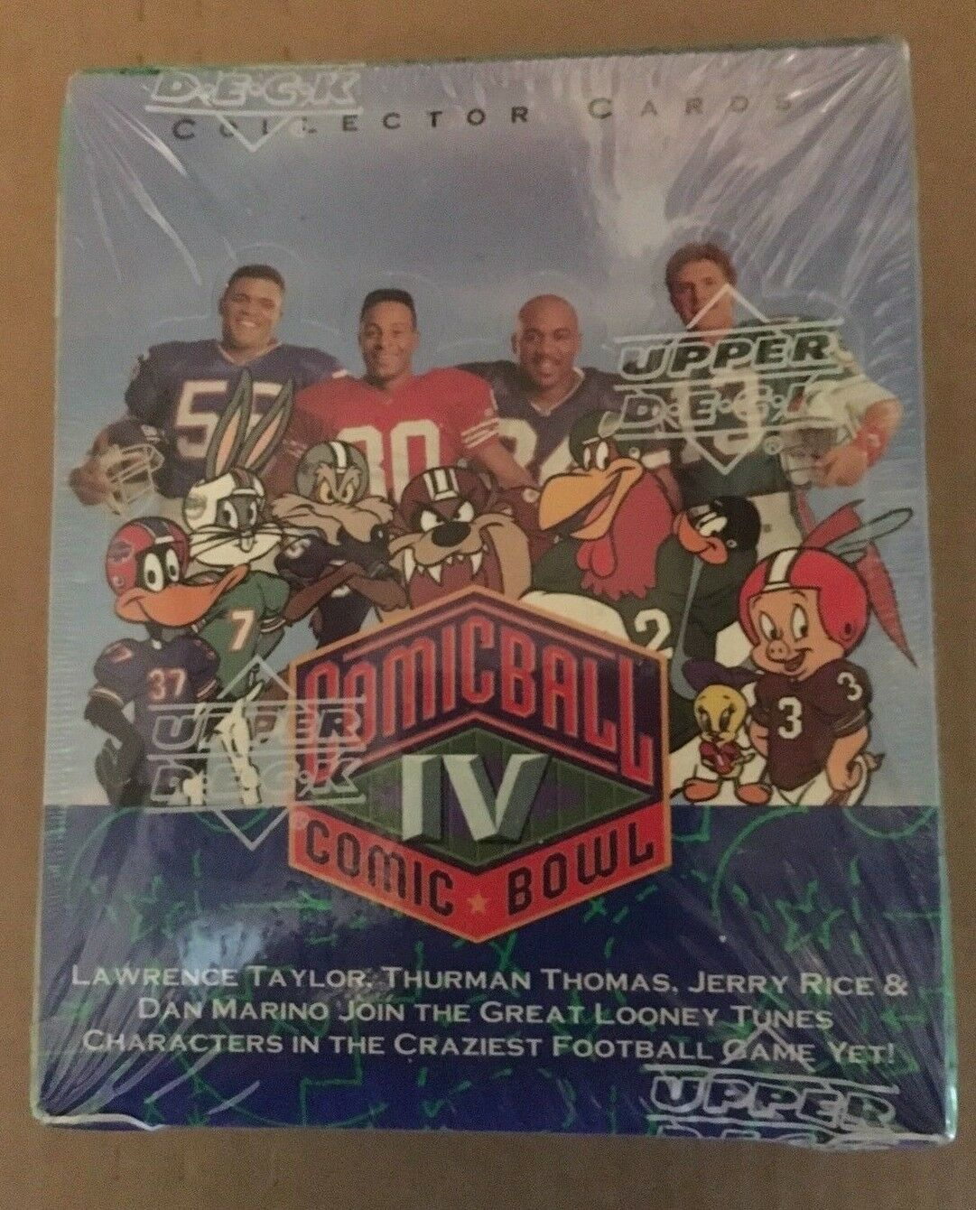 Primary image for 1992 Upper Deck Comic Ball IV Box Factory Sealed 36 Packs Football