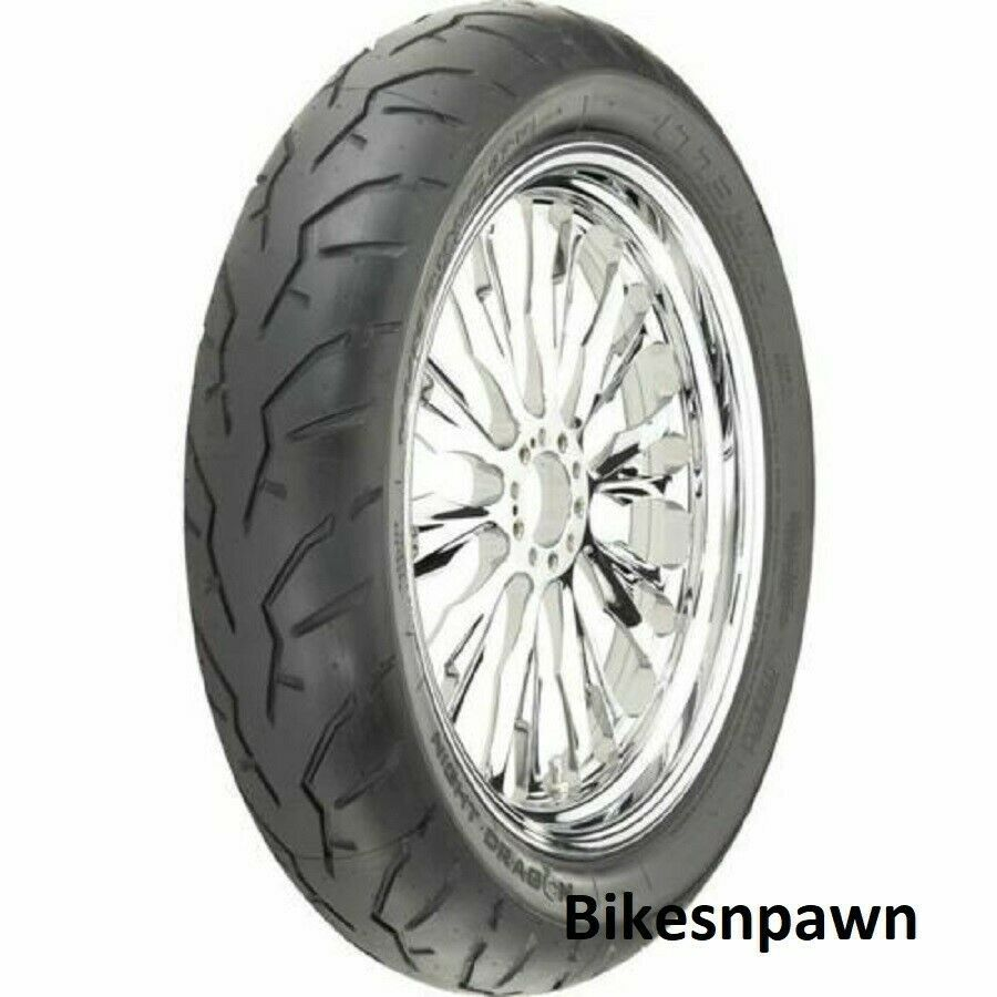 New Pirelli 130/70B-18 Night Dragon Performance Front Motorcycle Tire 63H