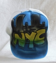 Nissun Cap NYC Skyline & Night Scape Trucker Cap