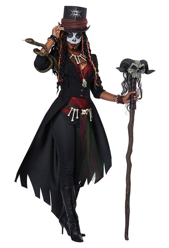 California Disfraz Voodoo Mágico Charms Adulto Mujer Disfraz Halloween 01432