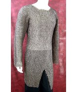 Medieval Chainmail Hauberk Dome Riveted Construction Stainless Steel  - $599.00