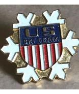 1972 US SKI TEAM Vintage Skiing Lapel Pin Tie Tac  NORTH AMERICA Olympics  - $7.99