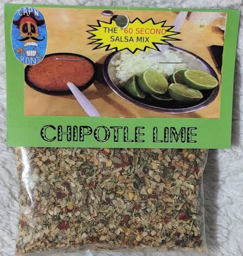 CAPN RONS Dip Addiction Chipotle Lime Sixty Second Salsa Mix