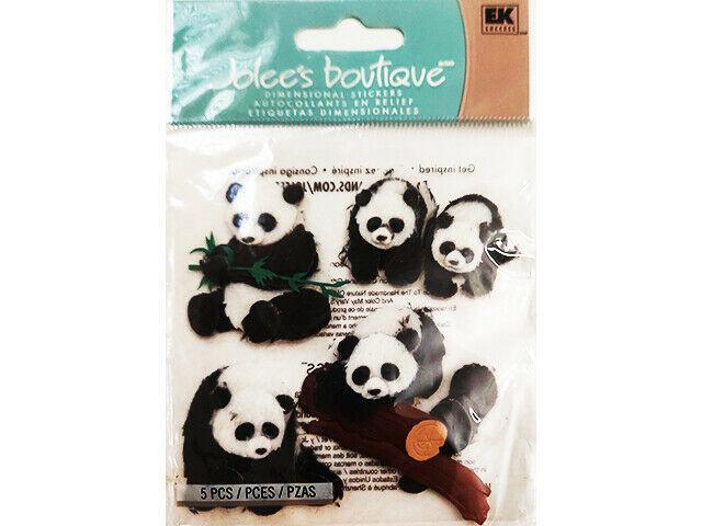Jolee's Boutique Dimensional Panda Stickers #50-20051