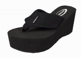 Soda Womens Oxley-S Flip Flop Sandals,Black Pu,7.5 - $20.45