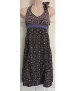 Athleta Halter Top Stretch Dress SIze 0 Sundress padded bra Sport Dress ... - $15.88