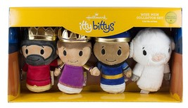 Wise Men Collector Set Hallmark itty bitty bittys Sheep Nativity Kings G... - $35.63