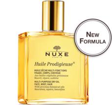 Nuxe Huile Prodigieuse Multi Purpose Dry Oil Face Body Hair Splash Bottle 50ml - $25.50