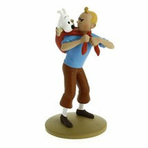 TINTIN & SNOWY POLYRESIN FIGURINE PRISONNERS OF THE SUN