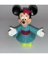 """Disney Minnie Mouse Oriental Kimono toy figure PVC  Epcot Center 3 1/4"""" ... - $9.85"""