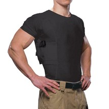 Men's Crew Neck Concealed Carry Holster Undershirt - Size: 2XL Camo/Blac... - $30.00