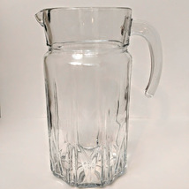 Cut Glass 64 Oz / 1/2 Gallon Pitcher - $22.00