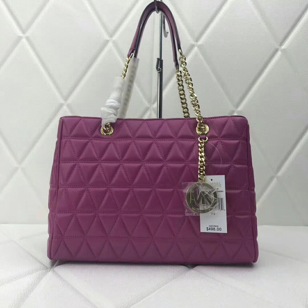 3458518b3be7ed Michael Kors Susannah Large Leather Tote and 50 similar items. Img 7469