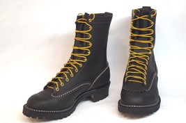 "Wesco Jobmaster 10"" Black Leather 10.5 D - $435.55"