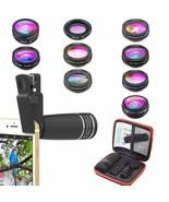 Kit D'Lunettes Professionnel En Appareil Photo pour Téléphones Smart 10 ... - $218.33