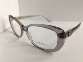 New Elegant Versace Mod. 3234-B 395 Clear 53mm Women's Eyeglasses Frame ... - $199.99