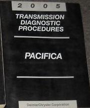 2005 Chrysler Pacifica Transmission Diagnostic Procedure Manual Oem Mopar Book - $15.85