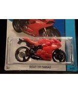 Hot wheels HW city 2014 Release red and black ducati 1199 - $14.69