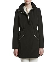 Ivanka Trump ~SMALL-LARGE~ Removable Hood Trench Jacket Black Coat Retai... - $119.99