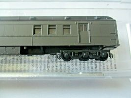 Micro-Trains # 14000001 Undecorated Dark Pullman Green Heavywight RPO Car (N) image 3