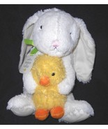 Hallmark Snuggles & Cuddles Bunny Baby Duck Chick Plush Stuffed Animal W... - $24.73
