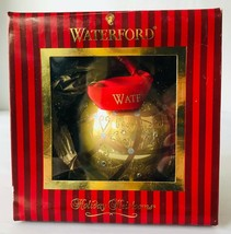 "Waterford Holiday Heirloom Christmas Ornament Celtic Scroll 153830 Gold 4"" - $53.20"