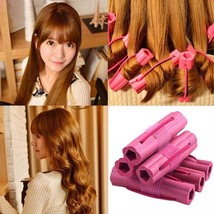New Fashion 6pcs Magic Foam Sponge for Hair Curler Wavy Travel Home Use Soft - $4.45