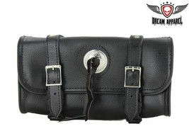 """12"""" Black Waterproof Tool Bag W/ Concho & Quick Release For Harley Davidson - $28.01"""