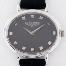 18k White Gold Ladies Longines Oval Hand-Winding Watch Mov #312 - $2,224.80