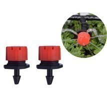 50 pcs  adjustable gardening micro flow head watering drip head spray head - £6.57 GBP