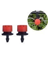 50 pcs  adjustable gardening micro flow head watering drip head spray head - $8.99