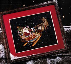 Cross Stitch Kitty Land Ornaments Patriotic Xmas Santa Angel Flag Frame Pattern - $10.99