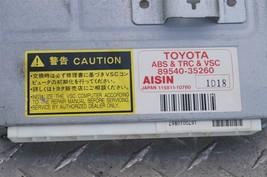 Toyota 4Runner ABS TRC & VSC Control Module 89540-35260 image 2