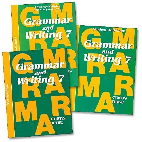 Primary image for Grammar & Writing: Homeschool Kit Grade 7 2nd Edition [Paperback] STECK-VAUGHN
