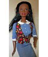 BARBIE AA African American Doll as School TEACHER wearing dress only - $19.99