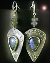 Free W $99 Haunted Earrings Alexandrias Secret Eyes Rare Magick Witch Magick - $0.00