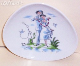 "GERMAN MODERN- ROSENTHAL RAYMOND PEYNET THE LOVERS PIN DISH  4 1/2"" X 4 ... - $14.95"