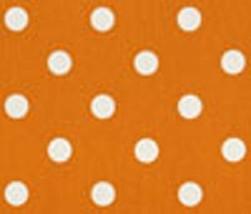 TABLE RUNNER Polka Dot White on sweet potato Orange Wedding Bridal Home ... - $19.00