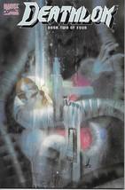Deathlok Comic Book Mini Series #2 Marvel Comics 1990 NEAR MINT NEW UNREAD - $4.99