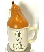 Rae Dunn Fall Coffee Mug Autumn Harvest Holiday Kitchen Bar Gourd Pumpki... - $29.99