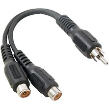 RCA AH25R RCA Y-Adapter (1 Male to 2 Females) - $19.97