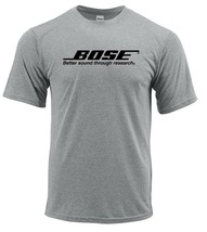 Bose Dri Fit graphic Tshirt moisture wicking car speakers SPF active wear tee image 1