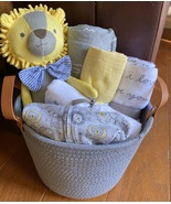 Louie Lion Baby Gift Basket - $69.00
