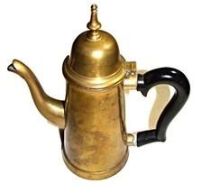 Small Vintage Turkish Style Brass Coffee Pot - $14.00