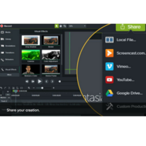 Camtasia Studio Video Editing Screen Recording Software for Mac OS  - $19.99