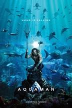 AQUAMAN D/S Original Movie Poster D/S 27 x 40 - $42.00
