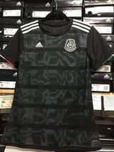 Adidas Mexico Womens Jersey Playera De Mexico Negra Para Mujer Size Larg... - $84.15