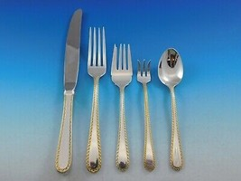 Golden Winslow by Kirk Sterling Silver 12 Flatware Service Set 66 pieces - $3,950.00