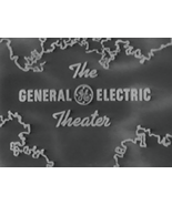 GENERAL ELECTRIC THEATER (1953) 58 Episodes - $27.95